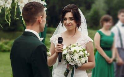 Vivre pleinement la cérémonie et le mariage… Paparazzis s'abstenir